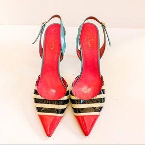 Kate Spade Slingback heels SZ- 7.5